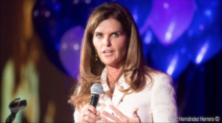 MARIA SHRIVER RECEIVES THE FIRST-EVER ALZHEIMER'S ASSOCIATION'S WOMEN'S INITIATIVE LEADERSHIP AWARD: