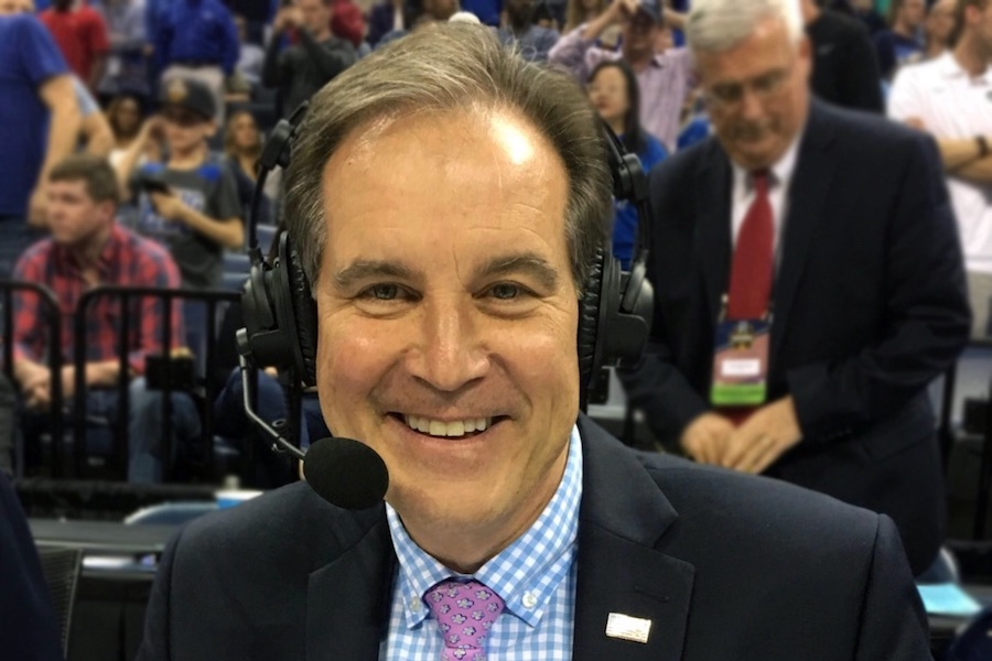 Sports Commentator Jim Nantz Finds His Calling in Alzheimer's Advocacy