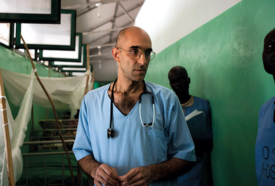 Dr. Tom Catena's Powerful Story of Serving as the Lone Doctor in a War-Torn Area
