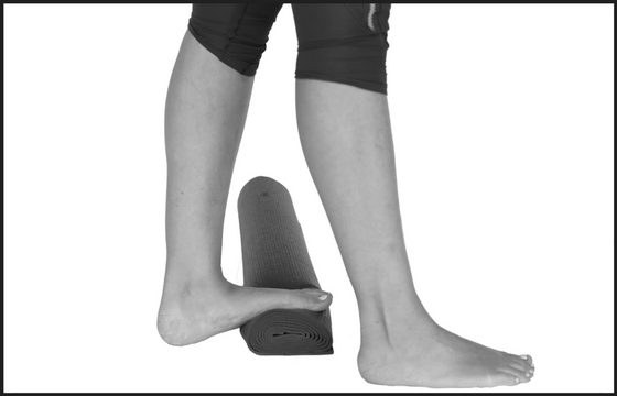 """Image result for rolled up towel calf stretch"""""""