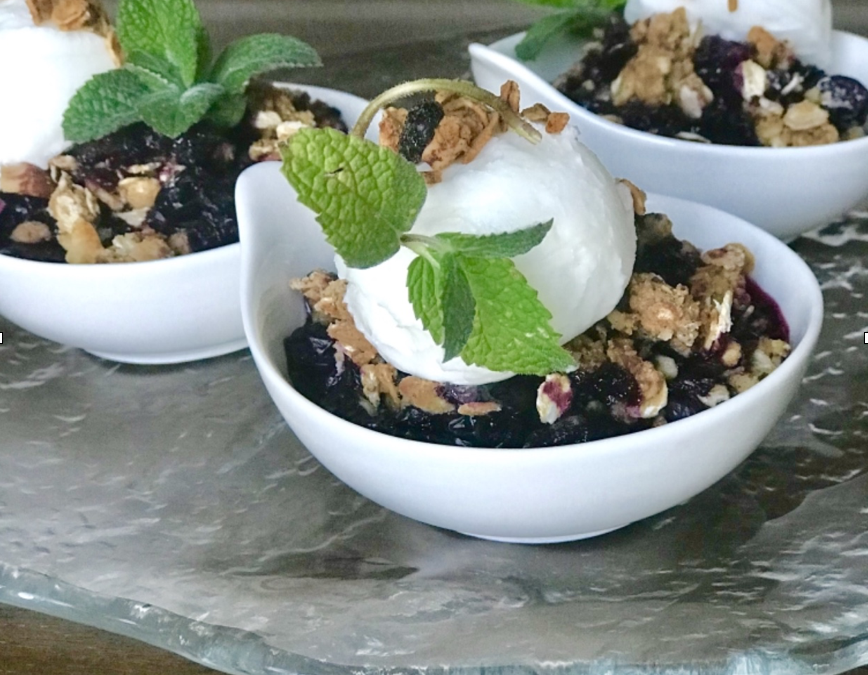 Try This Blueberry Cobbler
