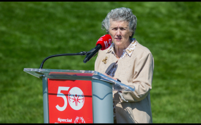Joan Chittister Remembers Eunice Kennedy Shriver at Flame of Hope Ceremony