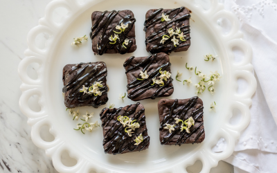 Cristina Ferrare's Healthy Brownies