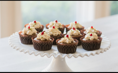 Cristina Ferrare's Pumpkin Cupcakes With Cream Cheese Frosting