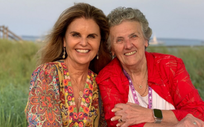 Maria Shriver's Sunday Paper: Whose Shoulders Do You Stand On?