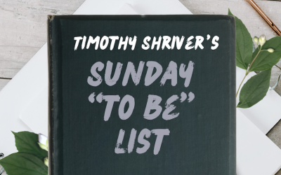 My 'To-Be' List: Timothy Shriver